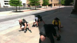 GORUCK Challenge Bear Crawl